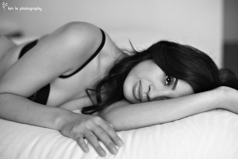 boudoir photography by kim le photography