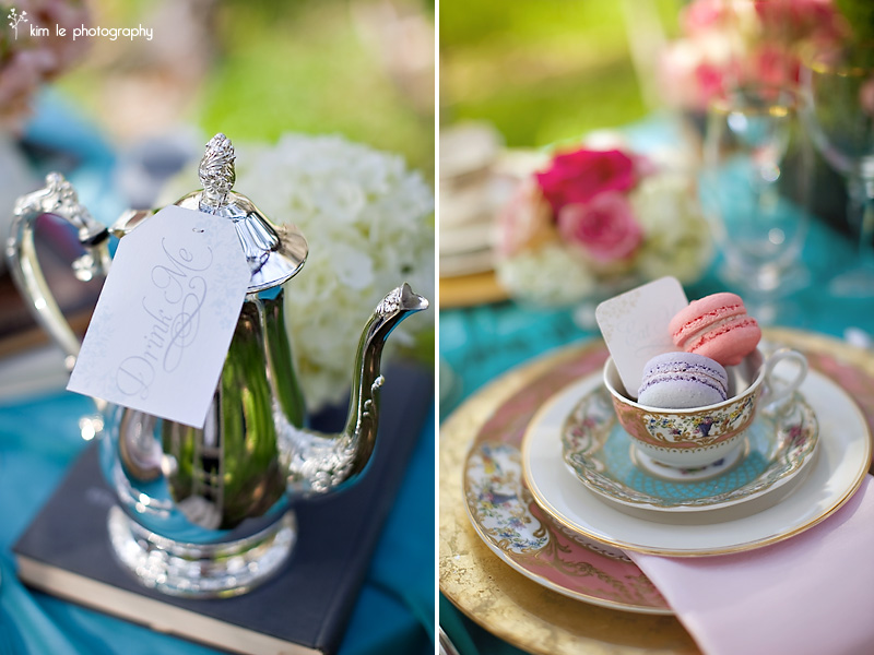 Alice in Wonderland bridal fashion shoot by kim le photography
