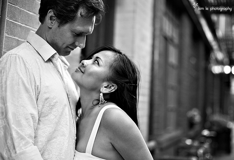amy & david engagement by kim le photography