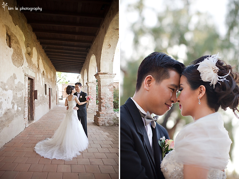 wedding portraits by kim le photography