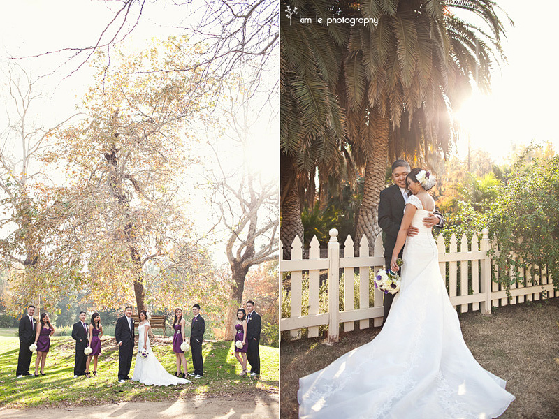 orange county california wedding by kim le photography
