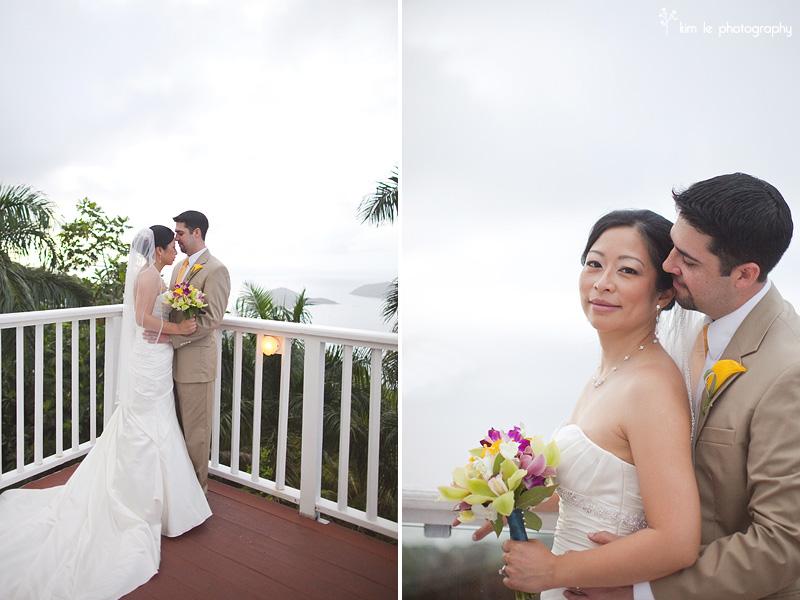 caribbean destination wedding photography by kim le photography