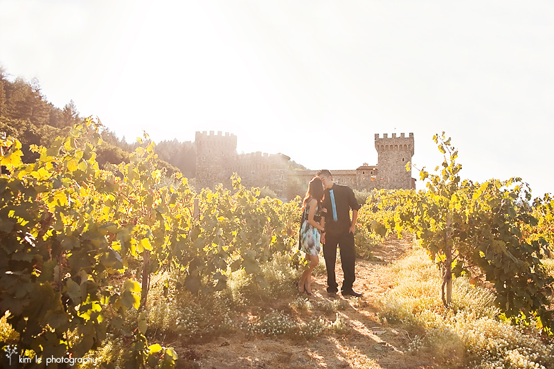 napa valley engagement by kim le photography