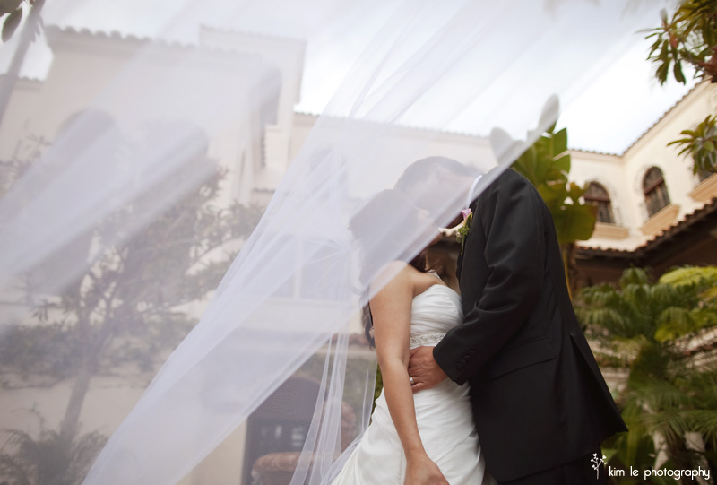 costa mesa wedding by kim le photography
