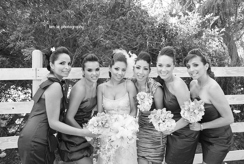 malibu calamigos ranch wedding by kim le photography