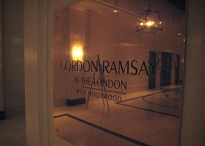 Gordon Ramsay at The London West Hollywood