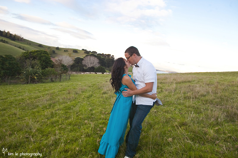 new zealand engagement wedding by kim le photography