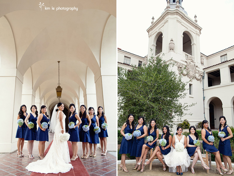 pasadena california wedding by kim le photography