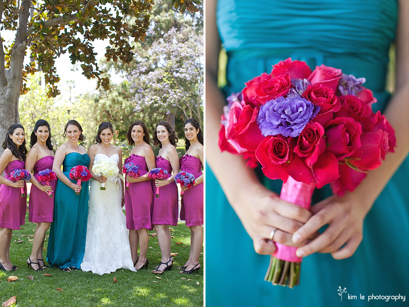 los angeles wedding by kim le photography