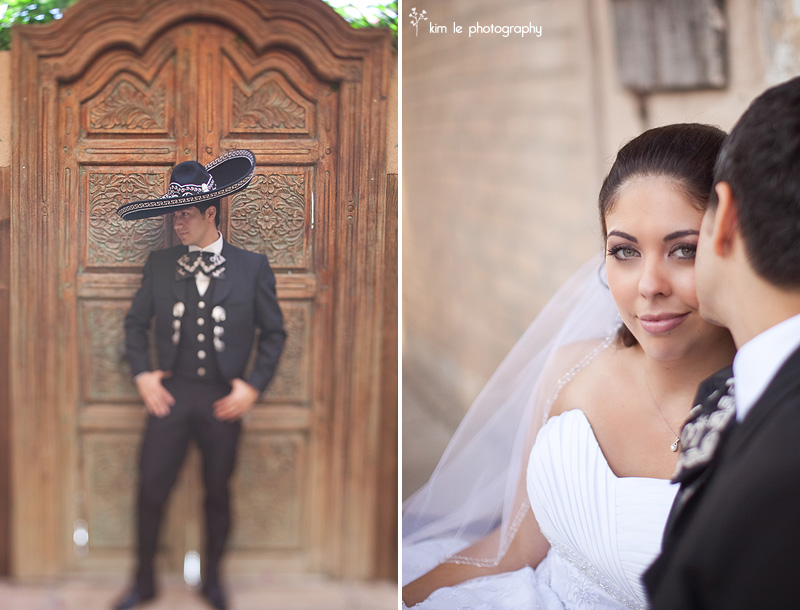 orange county hacienda wedding by kim le photography