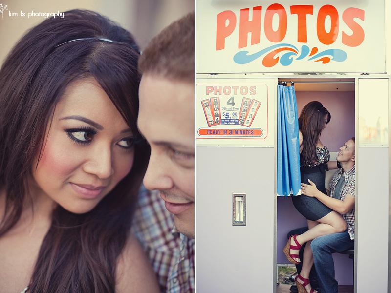 orange county fair engagement by kim le photography