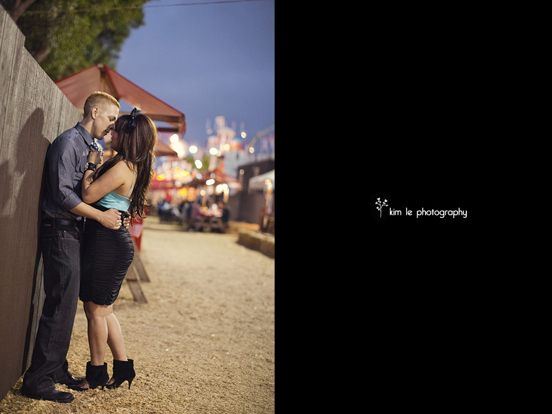 orange county fair engagement by kim le photography