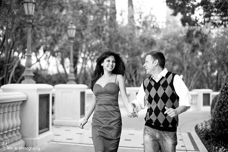 las vegas engagement by kim le photography