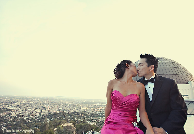 lien & david engagement by kim le photography