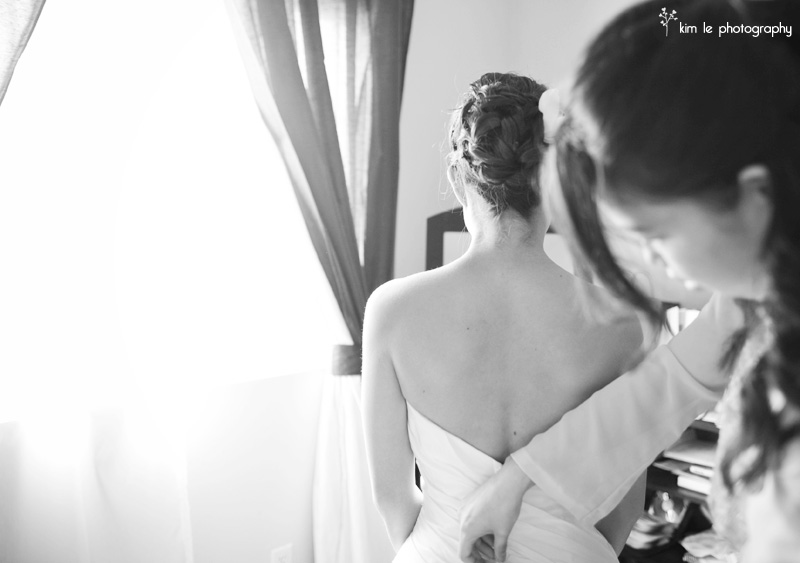 Lien & David Los Angeles wedding by kim le photography