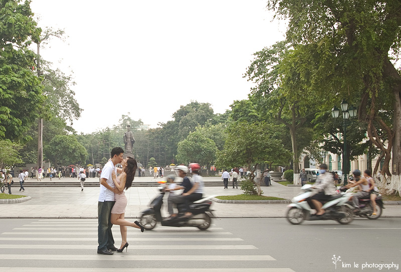 vietnam hanoi halong bay destination engagement by kim le photography