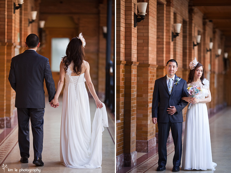 downtown los angeles wedding by kim le photography