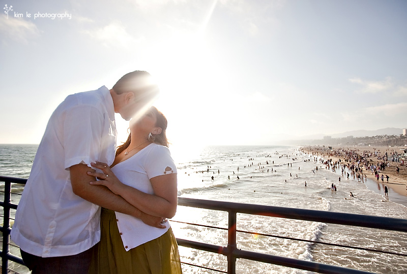 luci & ernesto engagement by kim le photography