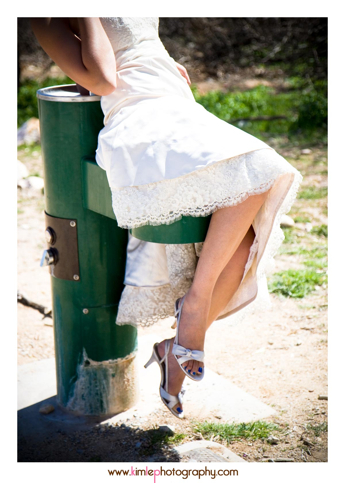vegas trash the dress