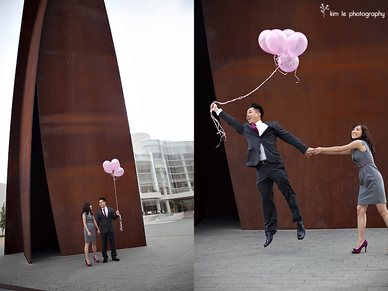 mirei & jimmy orange county engagement session by kim le photography