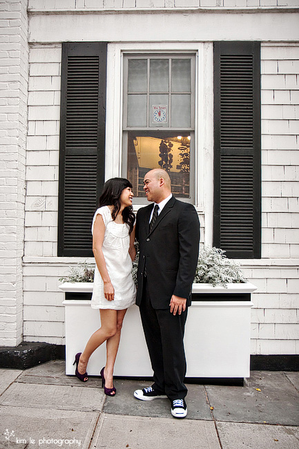 michelle & tony engagement by kim le photography