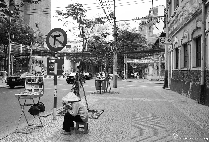 Saigon Vietnam by kim le photography