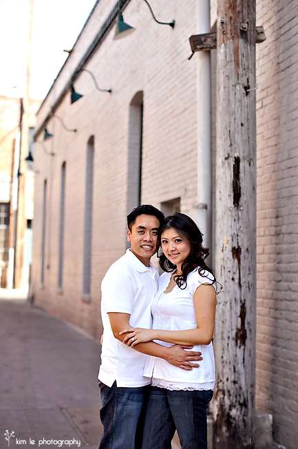 stephanie & david engagement by kim le photography