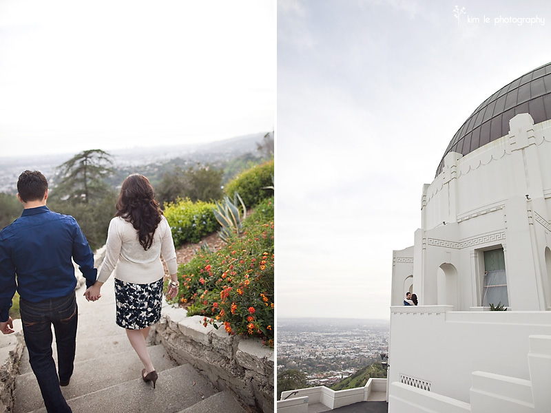 sylvia and joel engagement by kim le photography