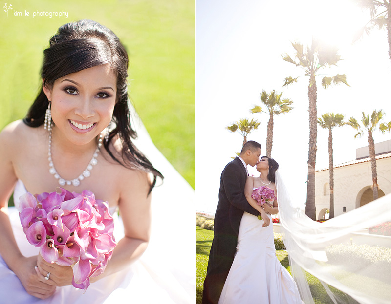 huntington beach wedding photography by kim le photography