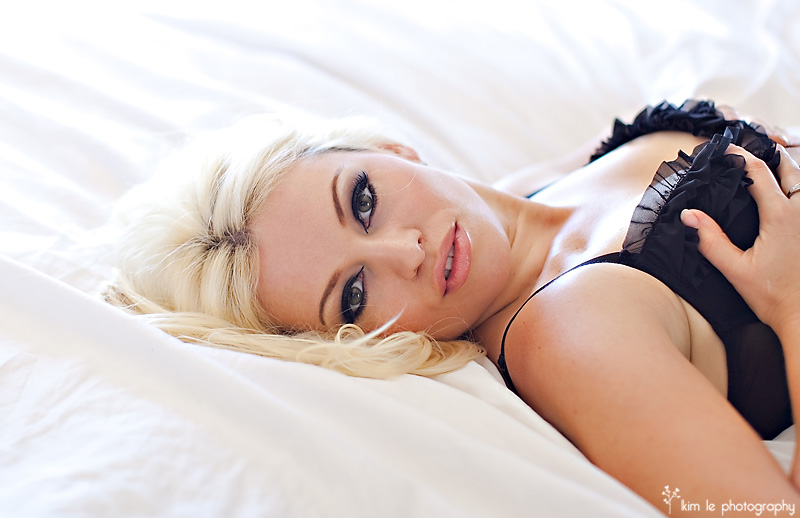 boudoir photography by kim le photography