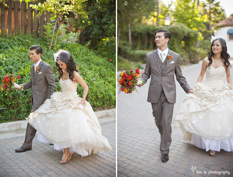 rancho las lomas wedding by kim le photography
