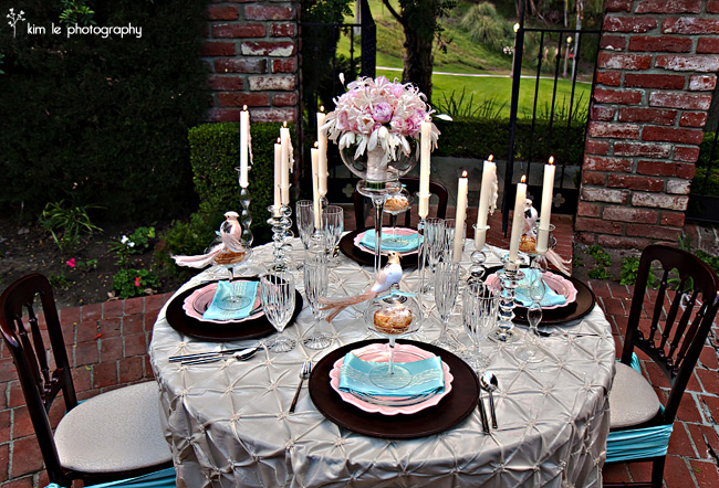 in the now weddings tablescapes