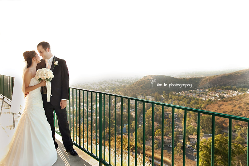 vi + aaron: orange hills wedding