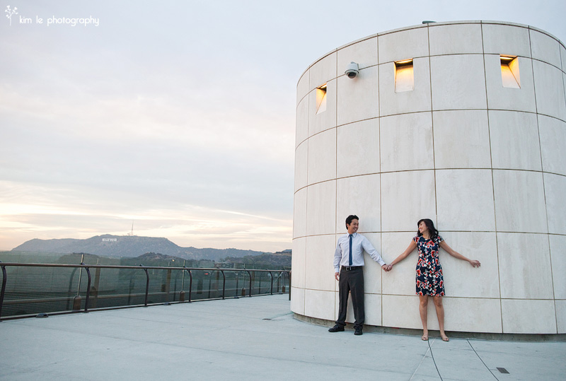 los angeles engagement by kim le photography
