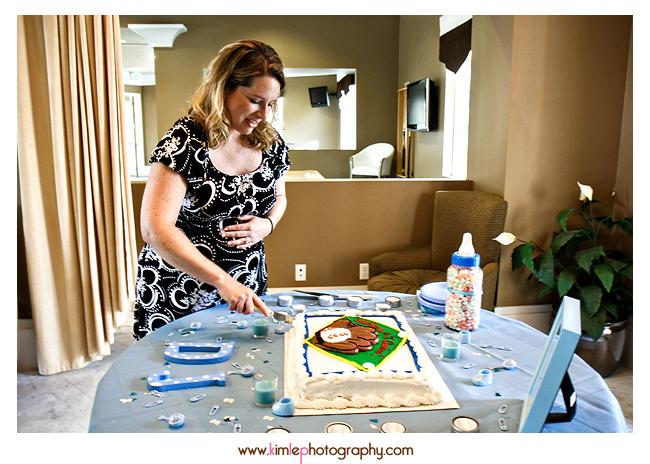wendi's baby shower