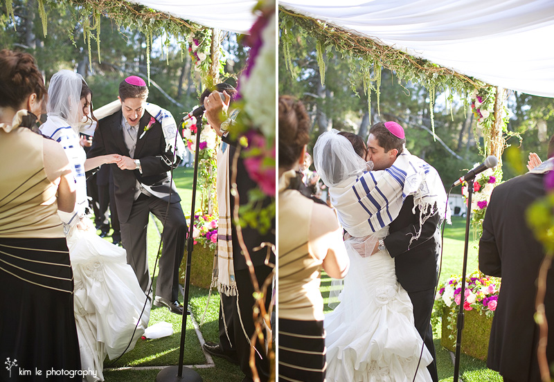 malibu jewish russian wedding by kim le photography